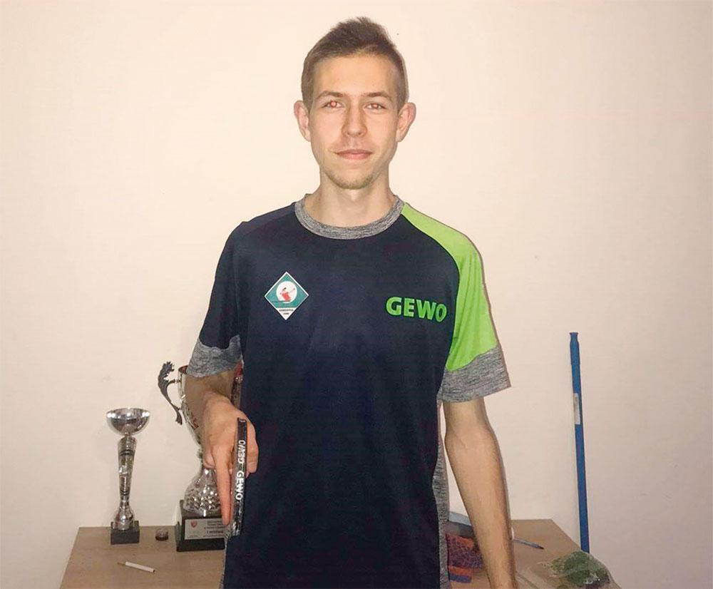 Tischtennisspieler Michal Kuzbinski