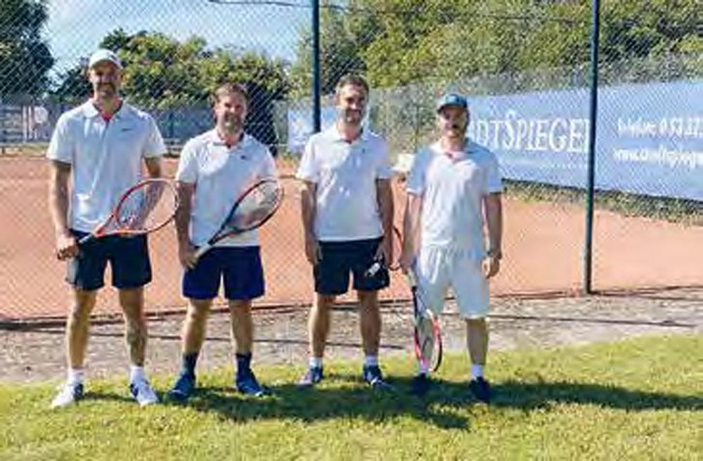 TSV-Tennis-Herren mit Sieg in die Saison