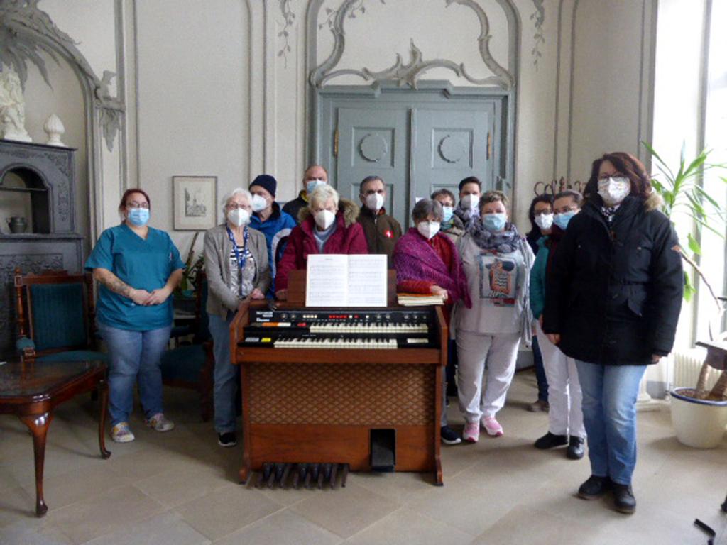 Orgelspende im Schloss Schließstedt