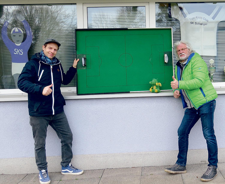 Simon Becker und Manfred Kramer